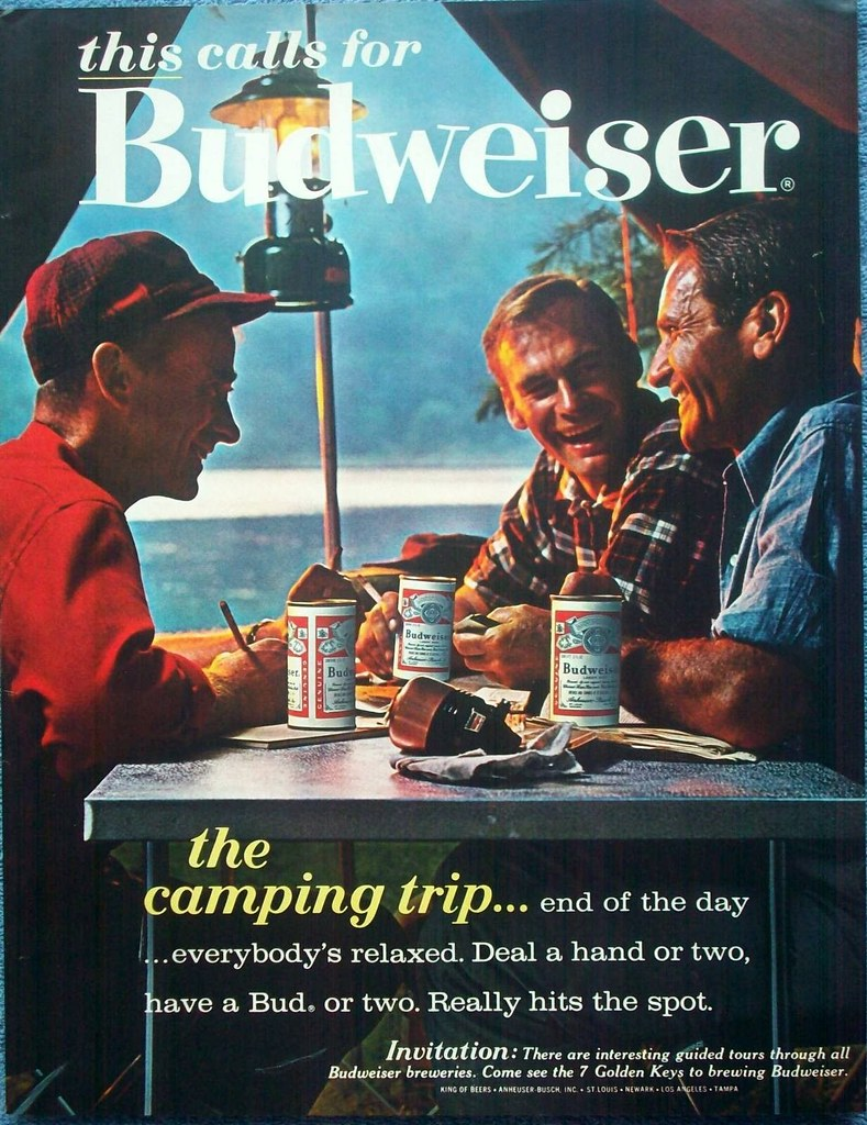 Bud-1963-this-calls-for-camping-trip