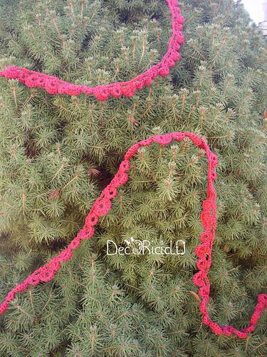 festone all'uncinetto per albero di Natale 3-001