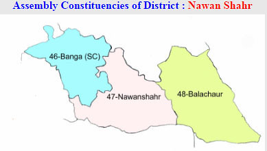 Nawan Shahr district Punjab Election 2017