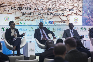 COP22 : The World Bank/AfDB: Africa Hydromet Program, 10 November 2016