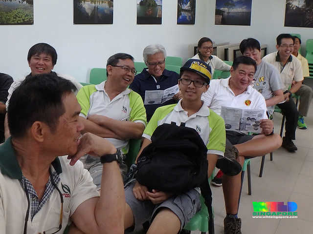 Sharing about the Restore Ubin Mangroves (R.U.M.) Initiative