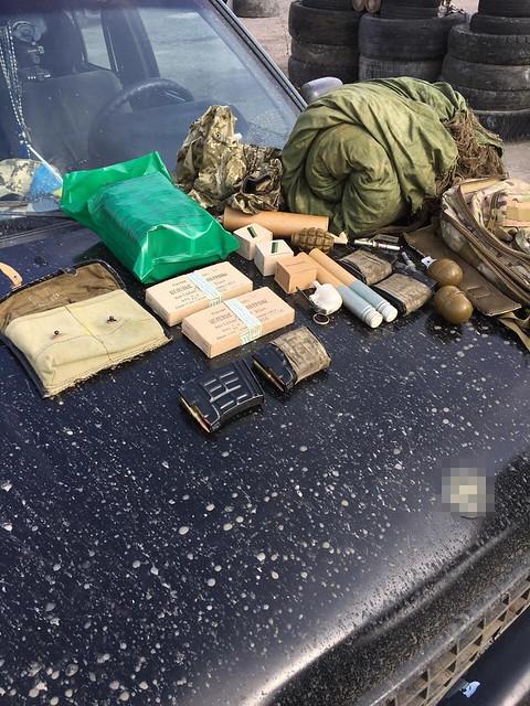 СБУ блокувала спробу вивезти зброю з району АТО