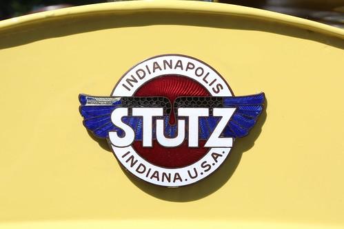Concours D Elegance >> 1913 Stutz Bearcat Radiator Emblem | Keels & Wheels Concours… | Flickr