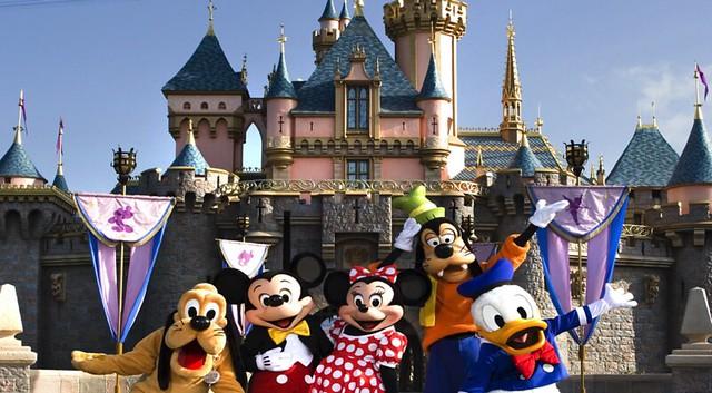 tour bờ Tây nước Mỹ Công viên giải trí Disney Land