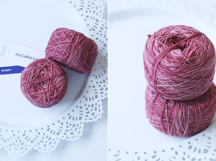 """KAL """"Banana Leaf Shawl"""": Los materiales » Things to Knit"""
