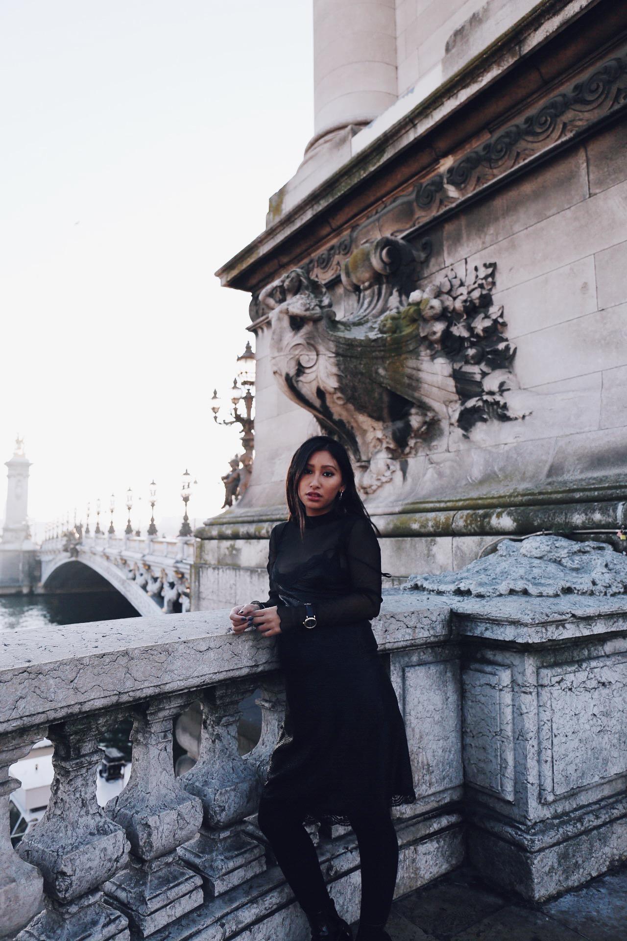robe de soirée blog mode paris