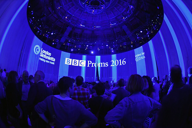 BBC Proms - London Sinfonietta at the Roundhouse 2016.