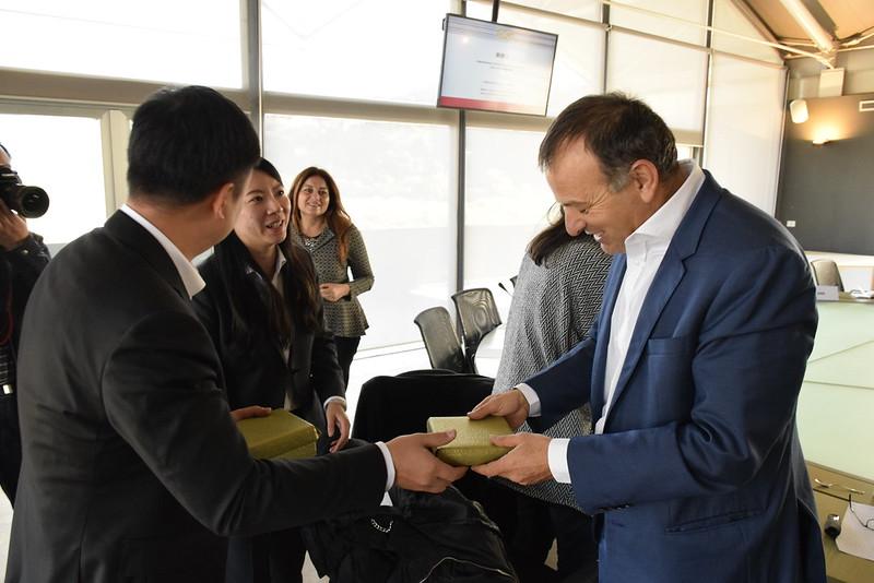 Visita della delegazione dello Shanghai Caohejing Hi-Tech Park