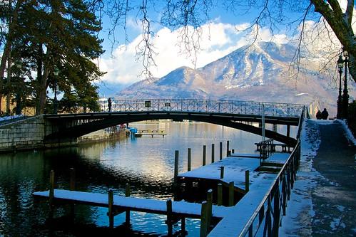 Le Pont des Amours (Annecy / France)