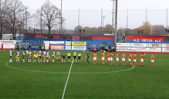 Virtus Verona-Calvi Noale 1-0: segna Peroni, gioia rossoblu!