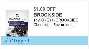 Brookside Chocolates Coupon