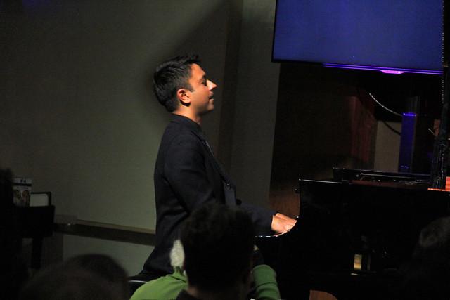 The Vijay Iyer Trio at Jazz at the Bistro, November 30, 2016