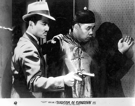 Keye Luke, Victor Wong in PHANTOM OF CHINATOWN