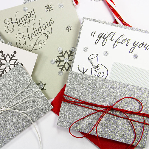 Easy, Last Minute Pocket Card Holders for the Holidays 1