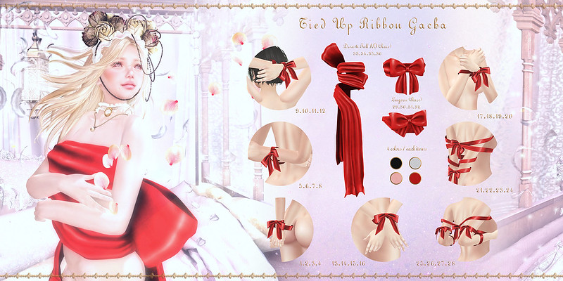 Sallie Language // Tied Up Ribbon Gacha @ Epiphany