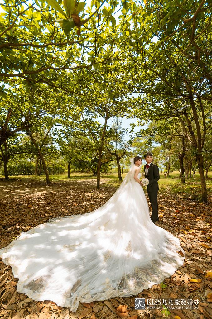 [高雄婚紗推薦]Kiss九九為我和歐爸拍出唯美又韓風的婚紗照 (10)