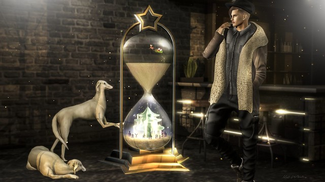 ::GB::Sheepskin jacket (M)/ Brown@CCB / *::.who what.::* -Christmas Time- @CCB