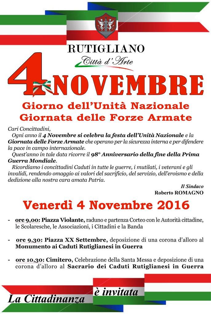 4 Novembre manifesto