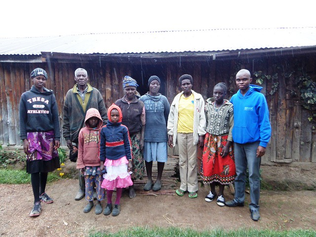 Uncle Hemed reuniting Njeri with her extended family