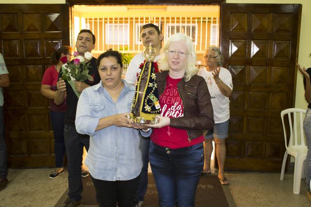 Chegada da imagem de nossa Senhora Aparecida, no Uirapuru (São Francisco de Assis)