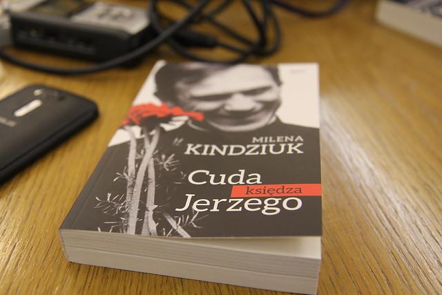"""Prezentacja książki: """"Cuda księdza Jerzego"""", Warszawa, 19 X 2016 r."""