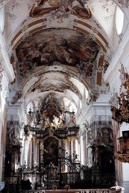 baroque church of Amorbach abbey, Germany