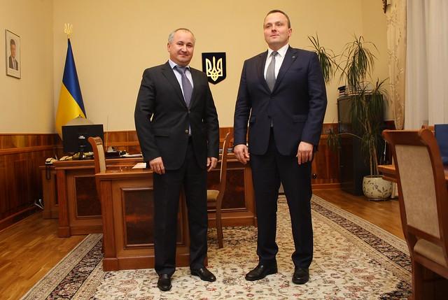 У Києві відбулася зустріч керівництва СБУ з делегацією Агентства внутрішньої безпеки Польщі