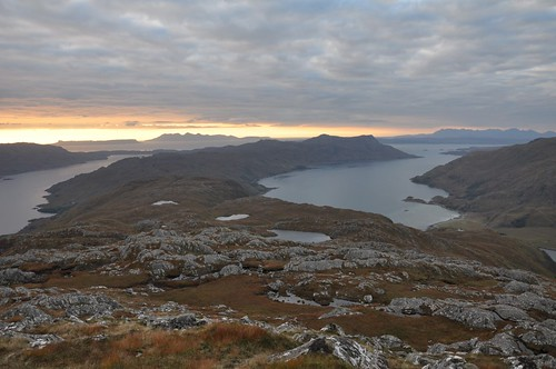 Small Isles from Sgurr Mor