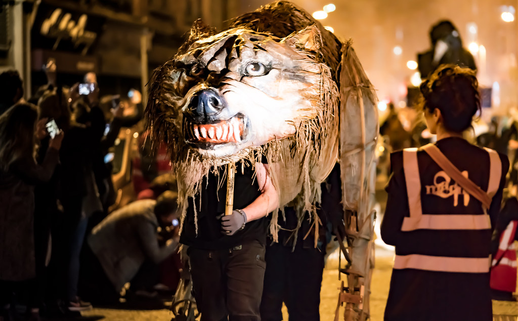 HALLOWEEN PARADE IN DUBLIN [PRESENTED BY MACNAS]-122586