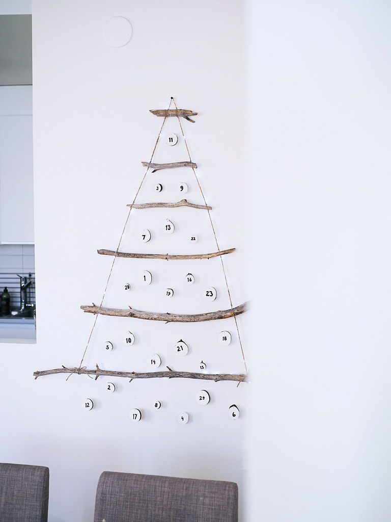 DIY joulukalenteri