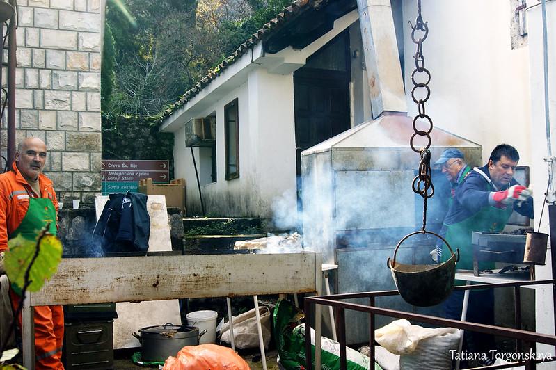 Приготовление каштанов