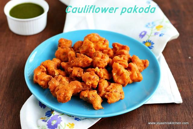 cauliflower pakoda
