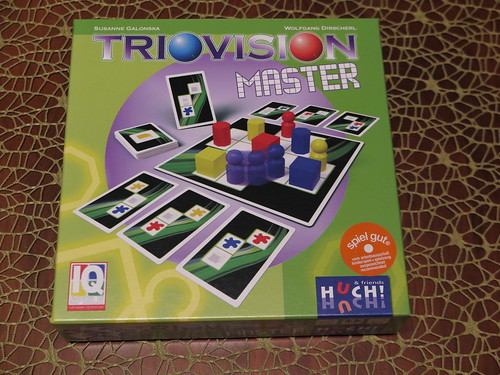 Logikspiel Triovision Master
