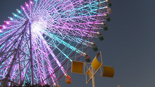 #AestesGTJ Osaka Bay Area Tempozan Ferris Wheel