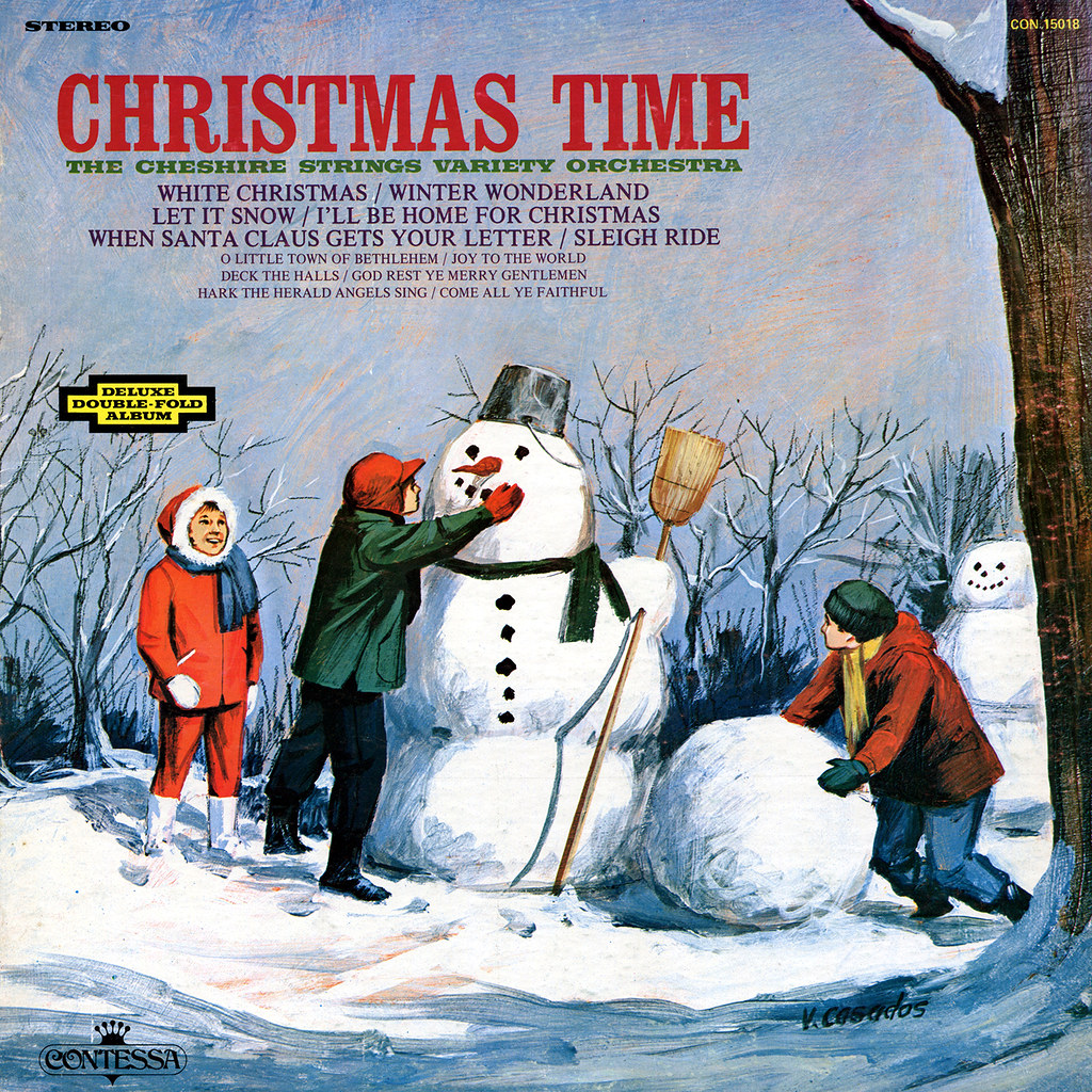 The Cheshire Strings Variety Orchestra - Christmas Time