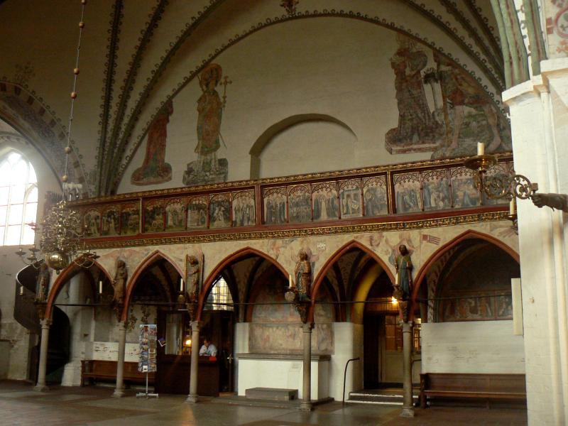 Image result for Holy spirit Hospital.lubeck frescoes