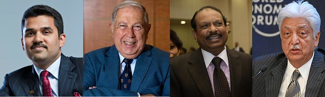 Four Muslims in Forbes' 100 Indian Billionaires for 2016