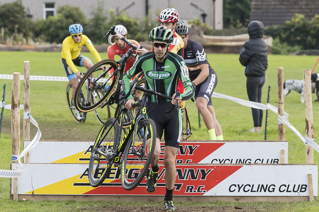 British Cycling National Trophy Series round 2, Abergavenny, 23 October 2016, Elite Men