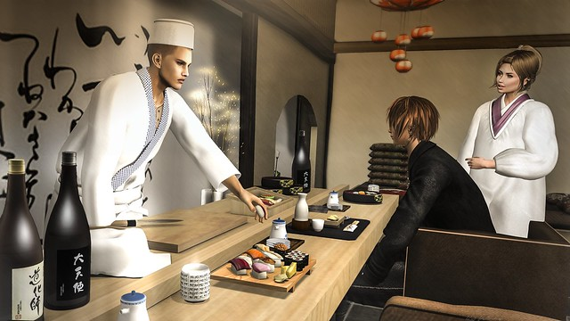~Ss~ITAMAE(cook)@CCB / [MB] Sushi Restaurant set@CCB