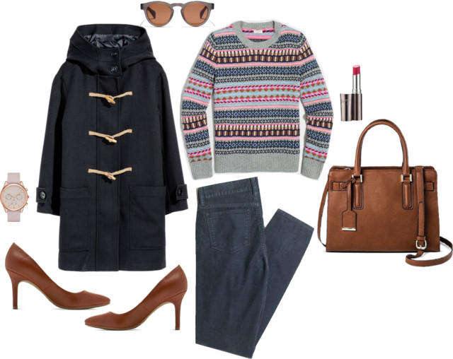 What I Wish I Wore, Vol. 162 - Fair Isle for Work | Style On Target blog