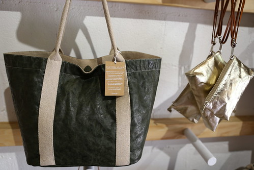 Uashmama innovative strong designer paper bags - The Rocks, Sydney, Australia