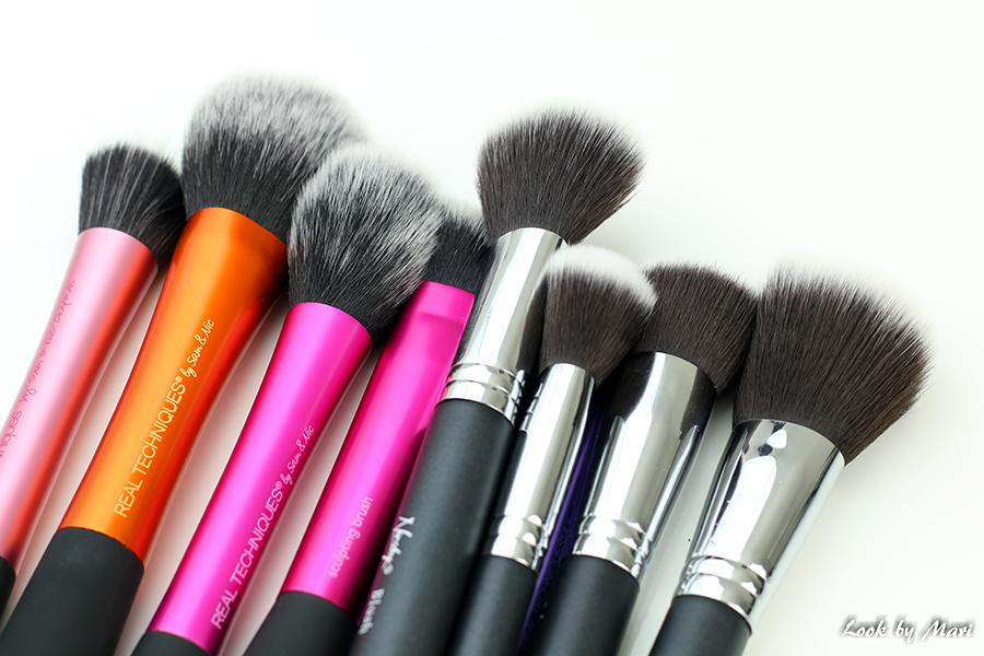 24 Nanshy brushes pastelbeauty.fi kokemuksia