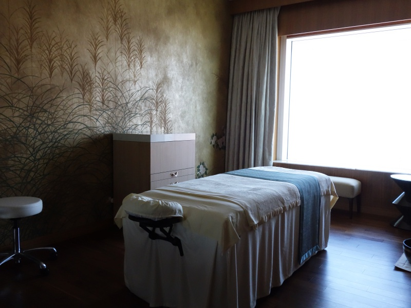 Iridium Spa room