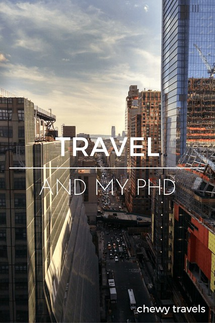 Travel and my PhD