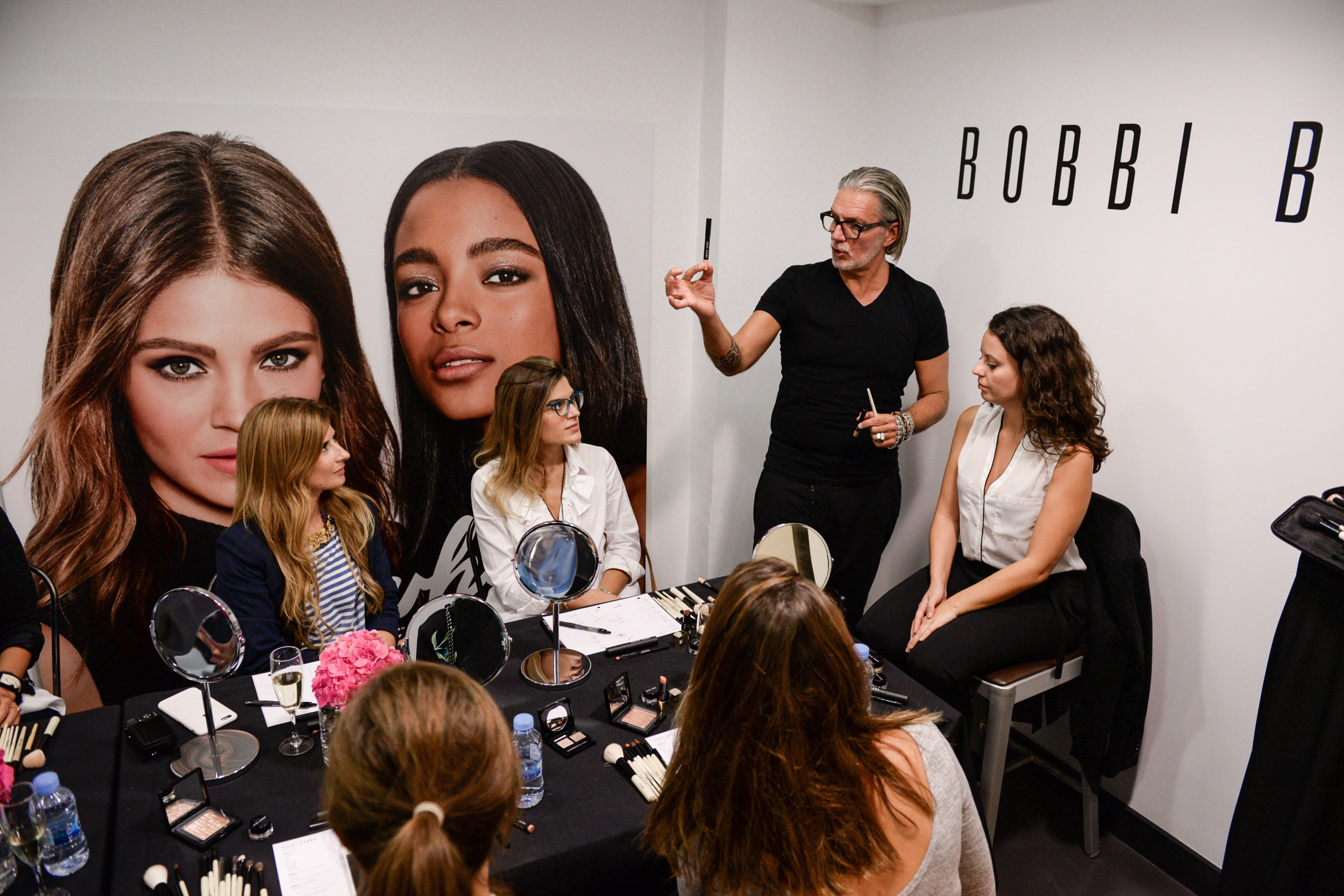retouching con Bobbi Brown
