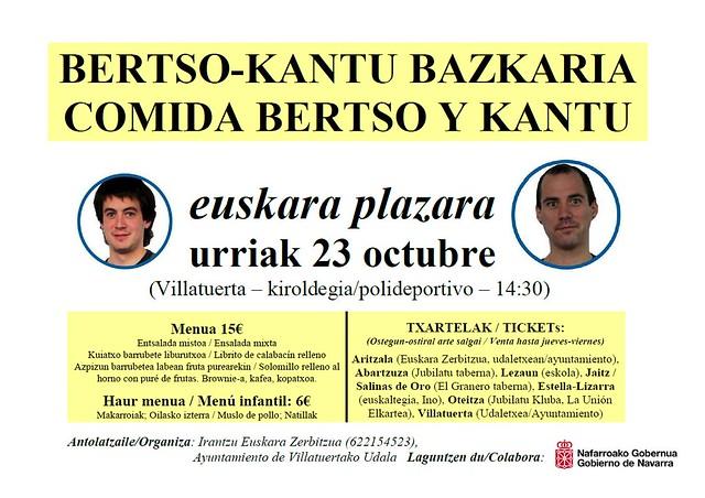 Bertso-bazkaria