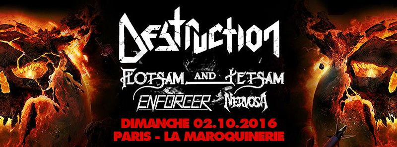 LIVE REPORT Destruction Flotsam & Jetsam Enforcer Nervosa @Paris (02.10.2016) - La Maroquinerie 29887065804_66a8737e9a_c