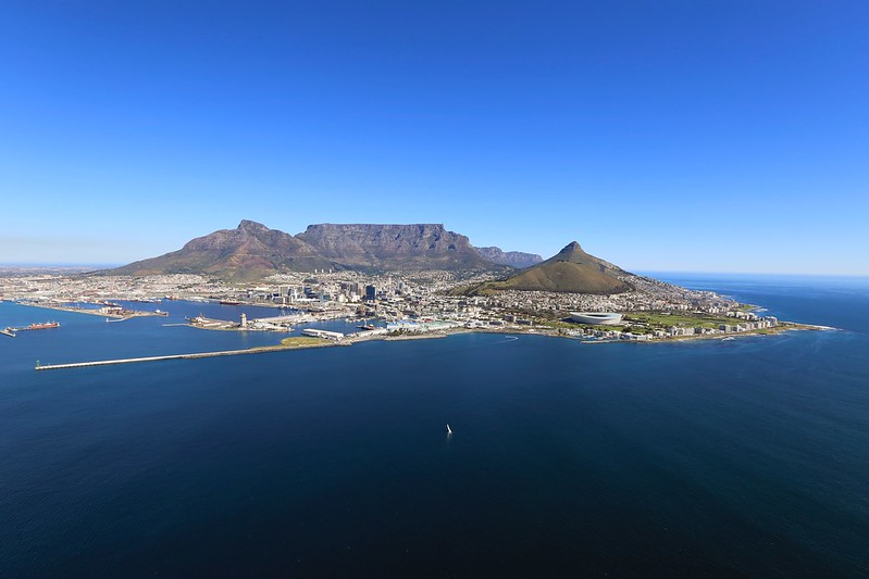Capetown South Africa Helicopter Ride Tour