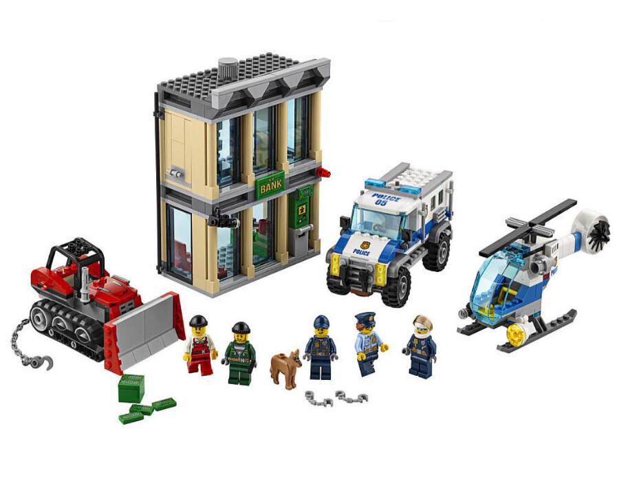 LEGO City 60140 - Bulldozer Break-in