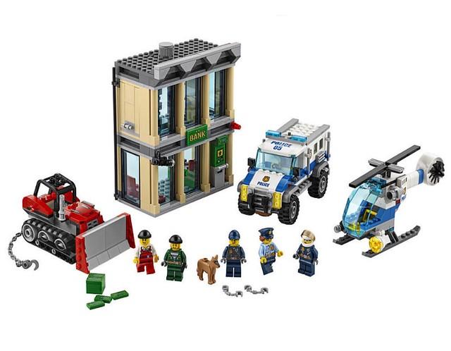 LEGO City 60140 - Bulldozer Break-in
